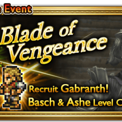 Global event banner for Blade of Vengeance.
