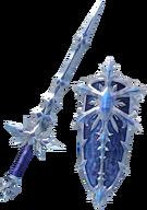 DFF2015 Ice Brand & Ice Shield Warrior of Light