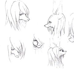 Facial expression concept artwork.