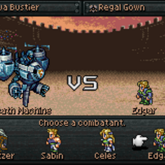 Choosing a character (GBA).