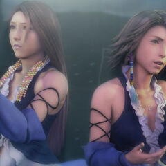 Lenne and Yuna singing in the HD Remaster.