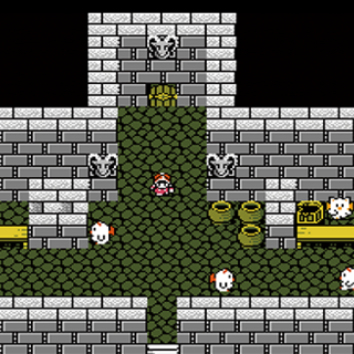 The Japanese dungeon image for <i>Doga's Grotto</i> in <i>Final Fantasy Record Keeper</i>.