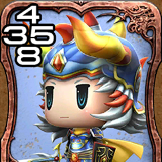 Warrior of Light from <i>World of Final Fantasy</i>