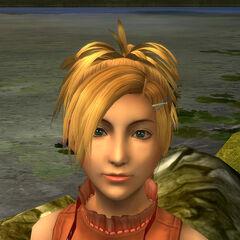 Rikku's new model.