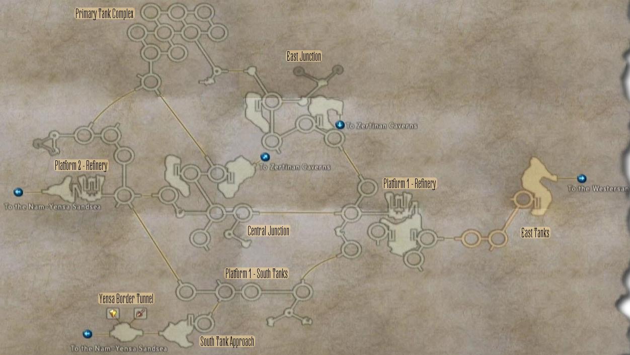 FF12 Map - Ogir-Yensa Sandsea