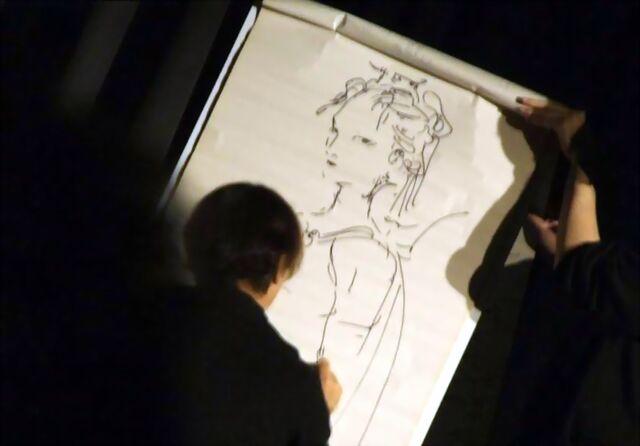 File:Amano sketching Lenna.jpg