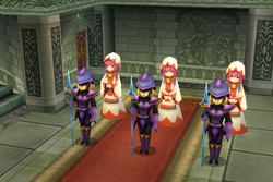 Baron Corps in the wedding ffiv ios
