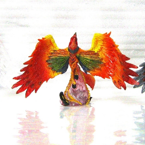 Phoenix in <i>Final Fantasy Creatures</i> Vol 5.