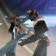 Rinoa and Squall reunited.