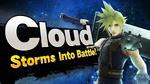 Cloud Smash Bros Splash Card