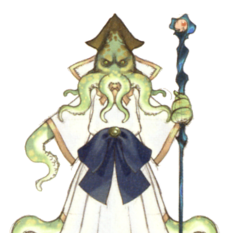 Akira Oguro artwork of the Mindflayer (DS).
