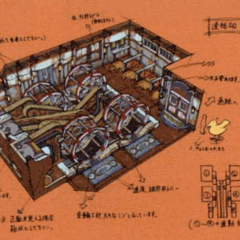 Engine room concept artwork.