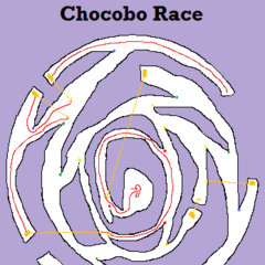 Chocobo racing map (3 chests).