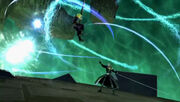 Sephiroth fights Cloud