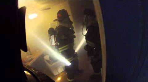 Marcella Ave Apartment fire with Multiple Rescue Helmet Cam Alameda County Fire Department