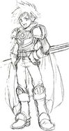 Concept art of Roy 2