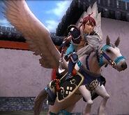 FE14 Pegasus Warrior (Tsubaki)