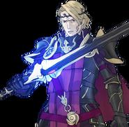 Siegfried glowing