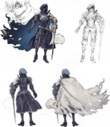 Chrom Sharp-FE Concept Art