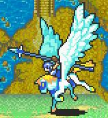 Thany as a Pegasus Knight