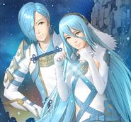 Azura Shigure Support Art