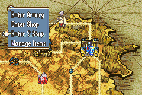 File:FE8 Accessing Shops from map.png