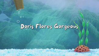 Doris Flores Gorgeous title card
