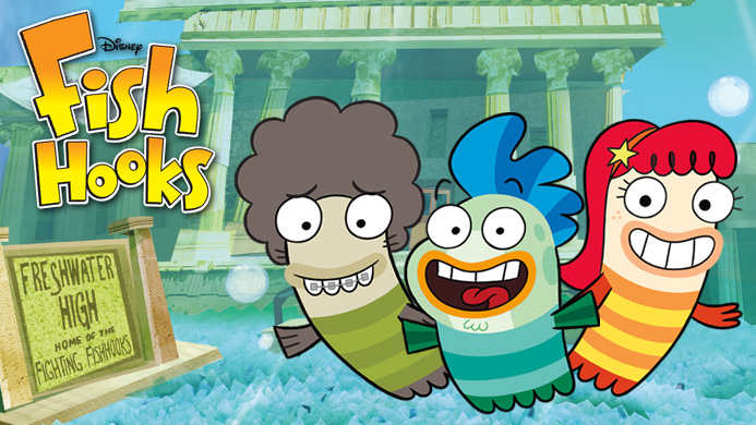 Image disney fishhooks1 1 jpg fish hooks wiki for Fish and hooks