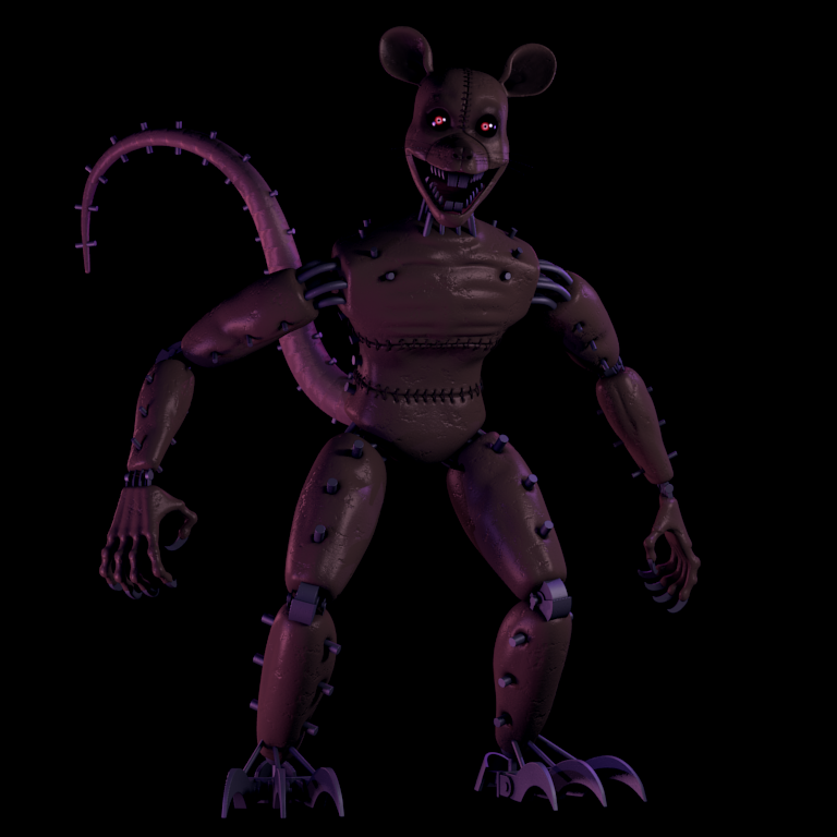 Image - Monster-Rat.png | Five Nights at Candy's Emil ...