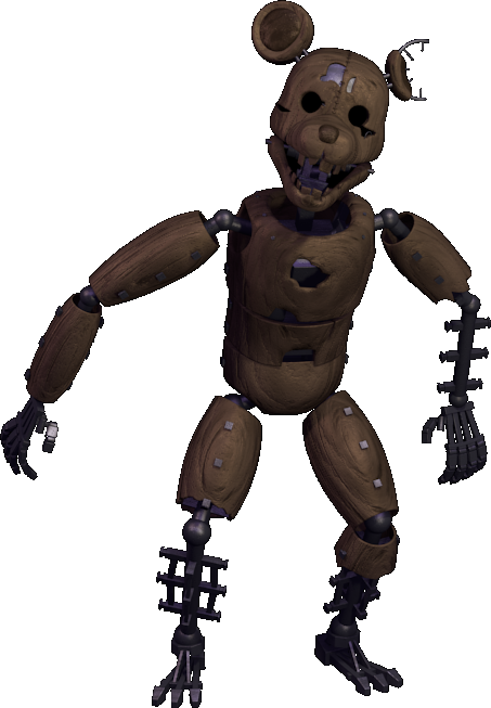 Image - RAT FNaC 2 Transparent.png | Five Nights at Candy ...