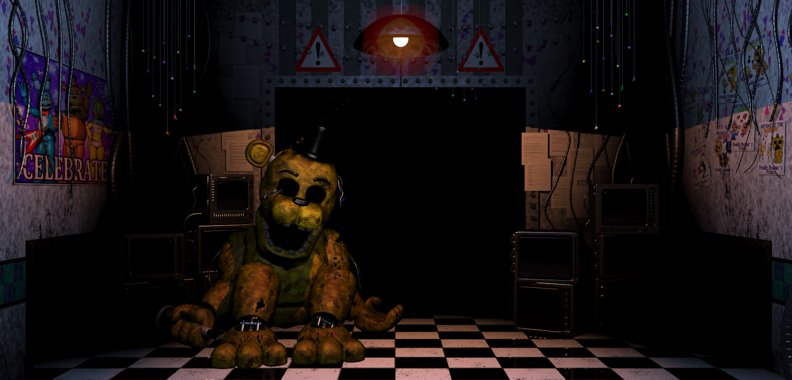 Golden freddy fnaf 2 wiki five nights at freddy 39 s for Cleaning out deceased parents home