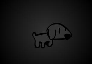 Black (dog)