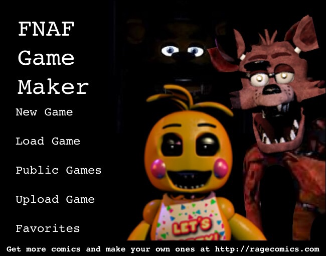 Image - FNAF Game Maker.jpg | Five Nights at Freddy's Fanon Wiki ...