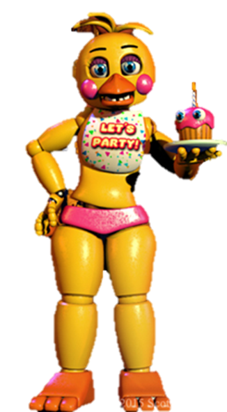 Fnaf 2 Toy Chica Wiki