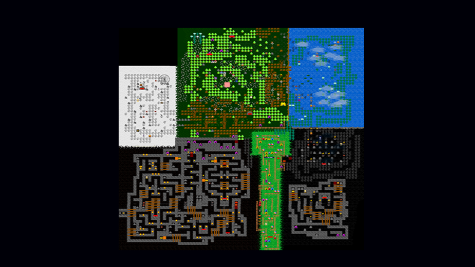 Fnaf 4 Map Layout