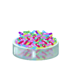 Regular sprinkles