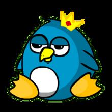 Pet king penguin