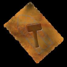 Copper hammer recipe
