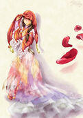 Tohru in a Wedding Gown by NoIdea