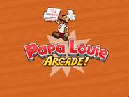 Papa Louie Arcade Logo