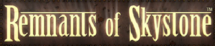 Remants of Skystone Website