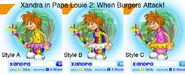 When Burgers Attack! - Xandra