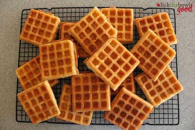 Как сделать вафли тонкие