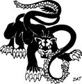 Monster Manual 1e - Displacer Beast - p28.jpg