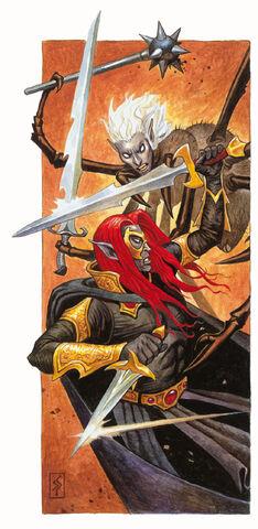 File:Vhaeraun and Selvetarm Do Battle.jpg