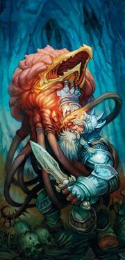 Fighting off a grell