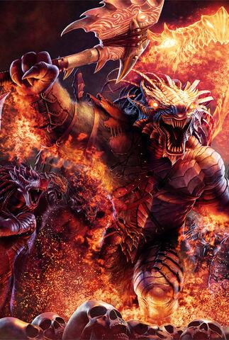 File:Dragonborn barbarians - Steve Argyle.jpg