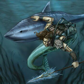 Threatening Shark