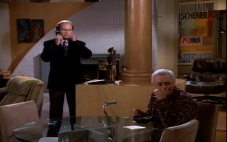 Wikia Frasier - Martin sets his son up