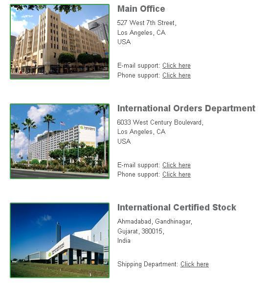 ILRX Offices